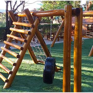Playground de Madeira para Construtoras