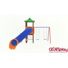 Playground Modular de Madeira Plástica - CMP - 2022