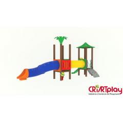 Playground Modular de Madeira Plástica - CMP - 2040